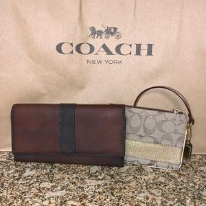 Coach Wallet & Wristlet! Today Only!